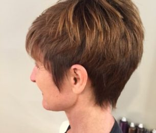 Fun, Low Maintenance Pixie Cut
