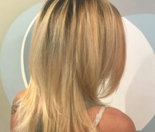 Layered Blonde