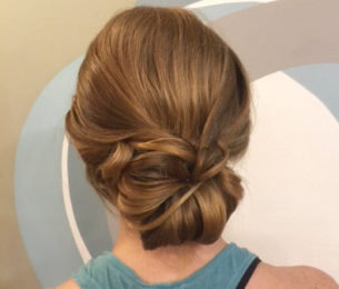 Low Chignon Updo