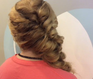 Side Swept Voluminous Braid